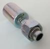 5/8 o-ring ίσιο θηλυκό μεταλλικό ακροφύσιο-Freezecom