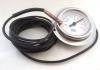 Θερμόμετρο Μεταλλικό Φ60 LR εμπρός φλάντζα-Freezecom